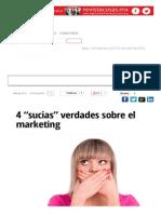 """4 """"Sucias"""" Verdades Sobre El Marketing _ Mundo Ejecutivo"""