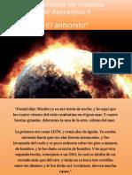 """Descubriendo los misterios del Apocalipsis 6  """"El anticristo"""""""