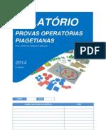 Provas Piagetianas 2014 v7