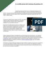 DNV GL conferma la certificazione del sistema di gestione di Hera