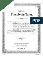Bohm - Easy Piano Trio No2 in G Op330 Violin Cello Piano
