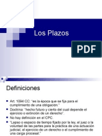 Plazos y Resoluciones Judiciales