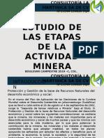 04.- Etapas en La Vida de Un Proyecto Minero