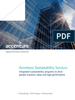 Accenture Sustainability Services Brochure