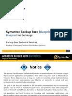 Symantec Backup Exec 2014 Blueprints - Exchange