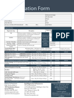 ITE 2010 Registration Packet REG PAGE