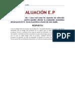 Evaluación Ep