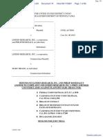 BRAGG v. LINDEN RESEARCH, INC. et al - Document No. 74