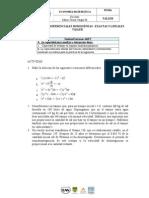 2015 - Taller - Ecuaciones Diferenciales Homogéneas - Exactas y Lineales