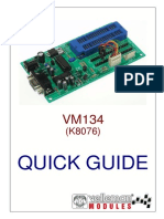 Quick Guide Vm134-k8076 Uk