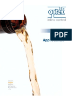 Optek TOP5 Brewery Applications English