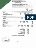 Análisis de Precios Unitarios Drenaje Pte