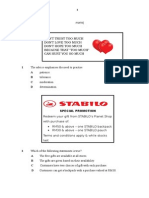 Module 1 BI Paper 2 2015