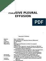 Massive Pleural Effusion