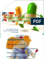 EFECTOS ADVERSOS DE LOS MEDICAMENTOS
