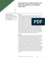 Formação Dos Partidos Políticos No Brasil Da Regência à Conciliação, 1831-1857