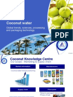 Coconut Water Presentation for APCC-DOA Training Tetra Pak Singapore