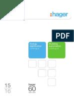 Hager 2015 Catalogue
