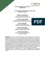 Caracterización Geomecánica de Las Brechas de La Formación Doán, Siquirres CR