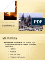 Metalurgia Industrial - Siderurgia