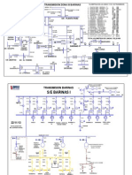 Diagrama Unifilar Lineas 115 Kv y Subestaciones Barinas
