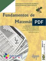 Fundamentos de Matematicas - FCA