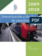 Amortizaciones y Fondos