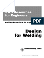 AWS Design for Welding