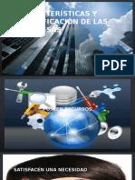Características y Clasificación de Las Empresas