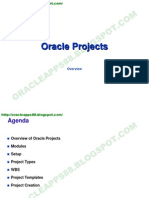 Oracle Projects(Cons)