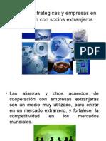 Alianzas Estrategicas y Empresas en Coinversion Con Socios
