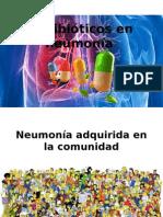 Antibióticos en Neumonía