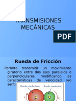 Transmisiones Mecánicas II