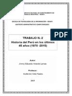 Historia Del Perú-Administracion General -Senati