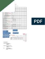 Velocity Pressure Method Calculation Sheet