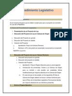Elaboracion de Proyecto de Ley