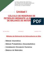 Ing. Yacimientos I I Unid I Balance de Materiales - Estudiantes