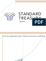 Standard Treasury Series A Pitch Deck