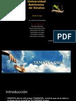 Tanatología Forense