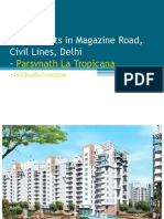 Luxury Flats in Magazine Road, Civil Lines, Delhi – Parsvnath La Tropicana