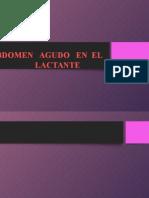 Abdomen AgudoLactante