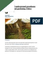 Build a $300 underground greenhouse_1376070989505