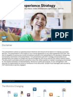 SAP UX Strategy and Design Services