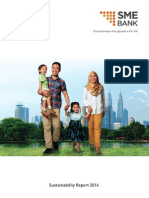 Sustainability Report 2014 - SME Bank