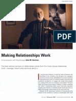 Making Relationship Work