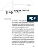 Yield Line Analysis for Slabs