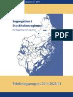Segregation i Stockholmsregionen