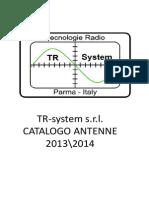 Catalogo Tr-system Antenne 2014