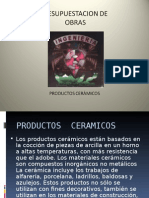 Productos Ceramicos 2
