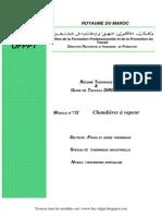 Module 11 Chaudieres Vapeur